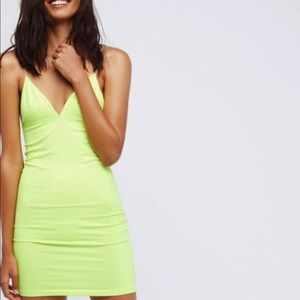 Free people intimately seamless bodycon slip dress